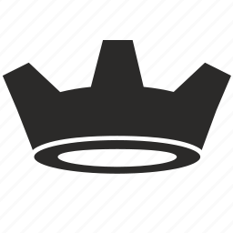 crown, king, monarch, royalty icon