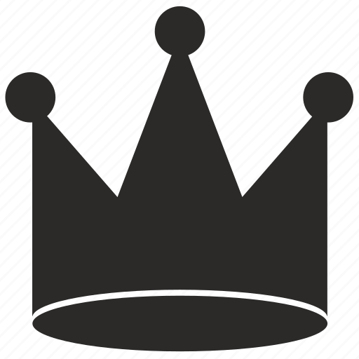 crown, king, monarch, roaylty icon