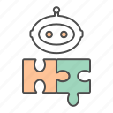 automation, chatbot, process, puzzle, robotic, rpa