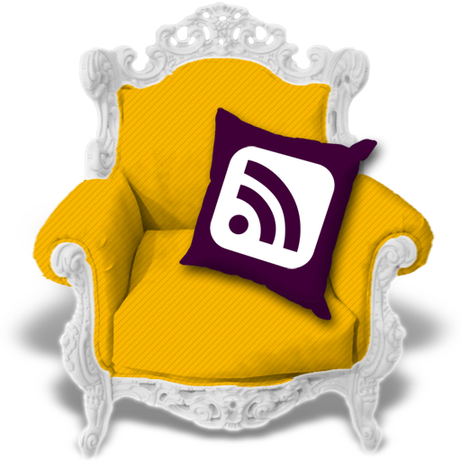 candyellow, rss icon