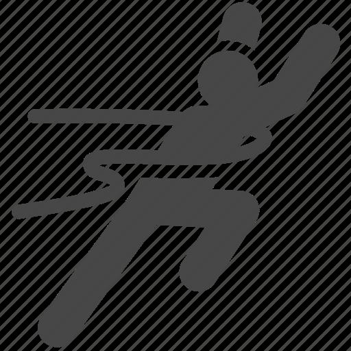 athletics, competition, runner, running, winner icon
