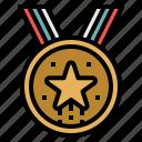 award, champion, medal, prize, winner icon