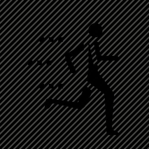 competition, finish, line, run, sports icon