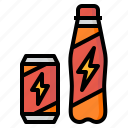 drink, energy, mineral, power, stimulants icon