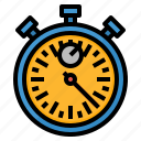 lap, running, speed, stopwatch, time icon