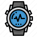 accessories, app, running, sport, watch icon