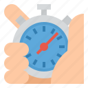record, speed, sport, stopwatch, time icon