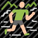 adventure, racing, run, running, trail