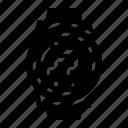 audio, music, play, running, smartwatch icon