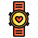 fitness, health, run, smart, sport, watch icon