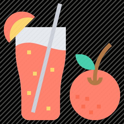 beverage, healthy, juice, orange, water icon