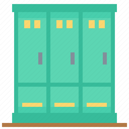 cabinet, locker, sport, storage icon