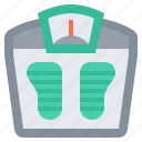 bmr, fitness, healthy, scale, weight icon