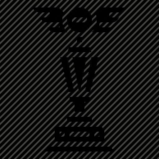 award, champion, prize, trophy, victory, winner icon