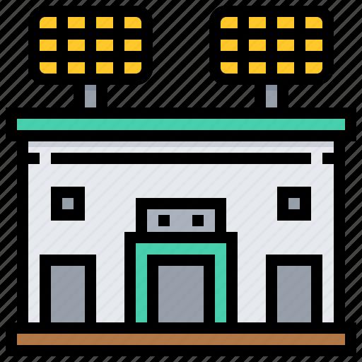 arena, building, sport, stadium icon