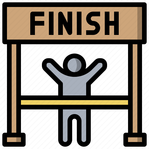 Finish, line, race, transport icon - Download on Iconfinder