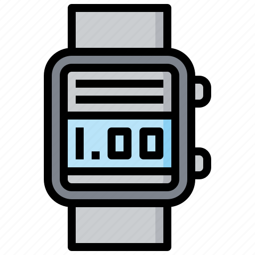 Device, electronics, healthcare, heart, rate, smartwatch icon - Download on Iconfinder