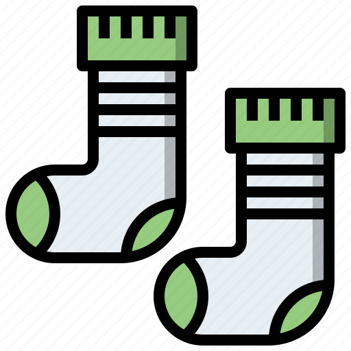 Clothes, clothing, fashion, feet, sock, socks icon - Download on Iconfinder