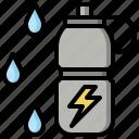 bottle, bottles, drink, water icon