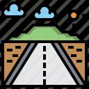 landscape, location, maps, race, route, way