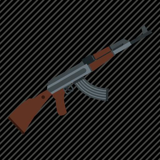 akm, ammunition, army, assault, automatic, brown, closeup icon