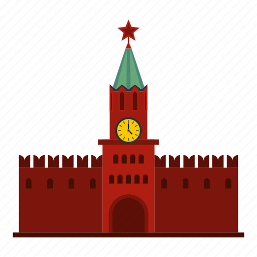 architecture, building, famous, kremlin, moscow, russia, square icon