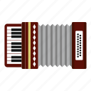 accordion, acoustic, classic, classical, entertainment, equipment, harmonic icon