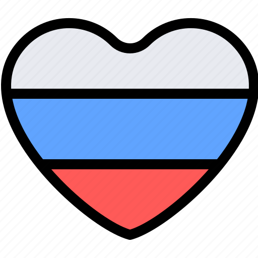 country, europe, love, russia icon