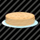 cooking, food, pancake, stack icon