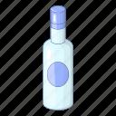 alcohol, bottle, drink, vodka icon