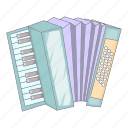 accordion, instrument, music, sound