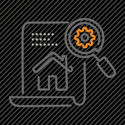 gear, homepage, optimization, options, seo, settings, tweak icon