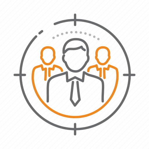 group, marketing, seo, target icon