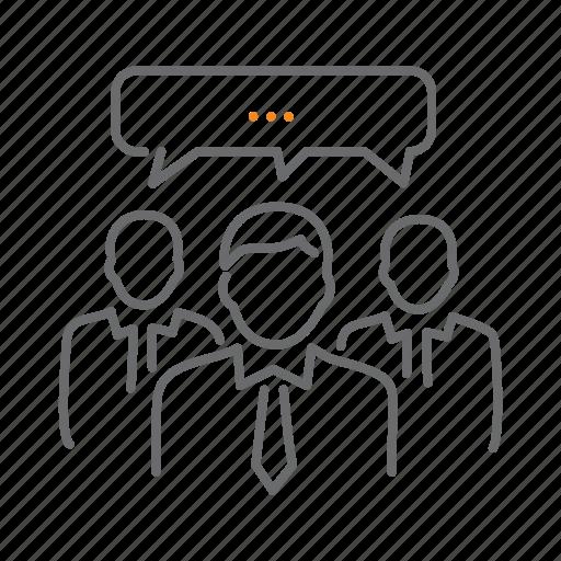 business, consensus, teamwork icon