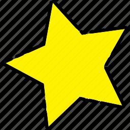 sea, starfish, summer icon