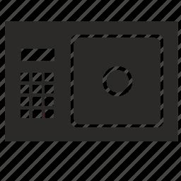 box, deposit, safe, strongbox icon