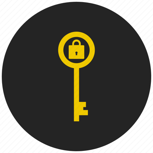 key, password protected, protected, read only, safety, security, write access protected icon