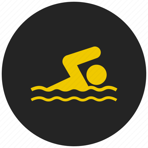 exercise, indoor pool, pool, sport, swimming, water icon