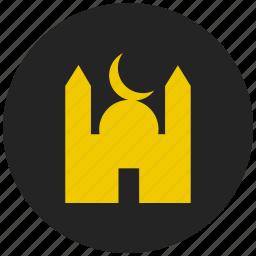islam, masjid, mosque, muslim, prayer, religion, religious building icon