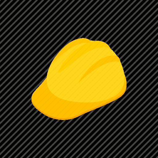 construction, hardhat, helmet, isometric, plastic, protection, safety icon