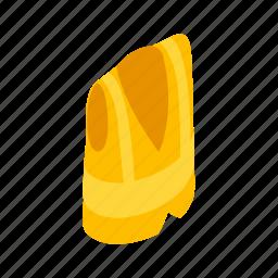 isometric, jacket, protective, rescue, safe, safety, vest icon