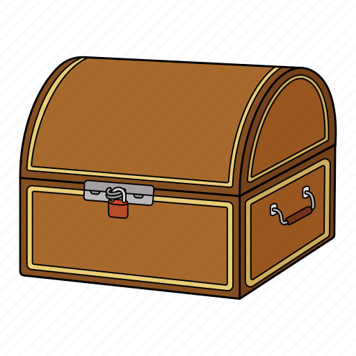 Box, chest, gold, treasure icon - Download on Iconfinder