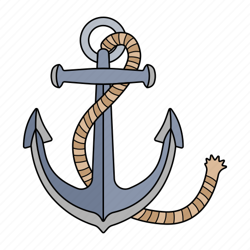 Anchor, boat, sea, ship icon - Download on Iconfinder