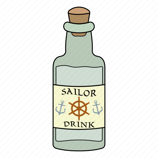 alchol, bottle, drink, glass icon