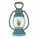 lamp, lantern, light, sailor icon