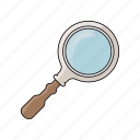 item, loupe, tool, zoom icon