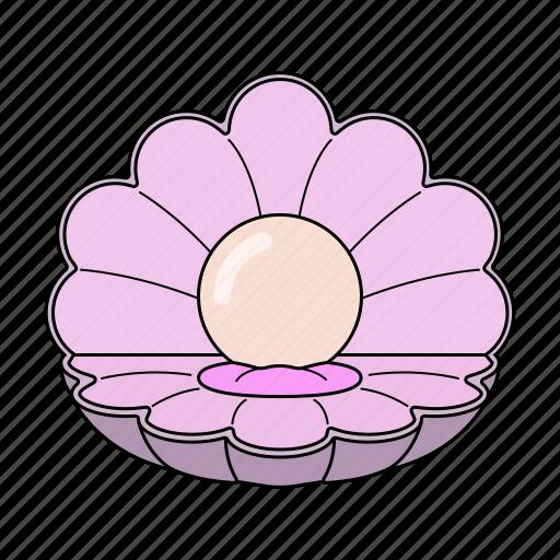 Delight, pearl, sea, treasure icon - Download on Iconfinder