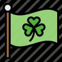 clover, festival, flag, ireland, saint patrick, shamrock