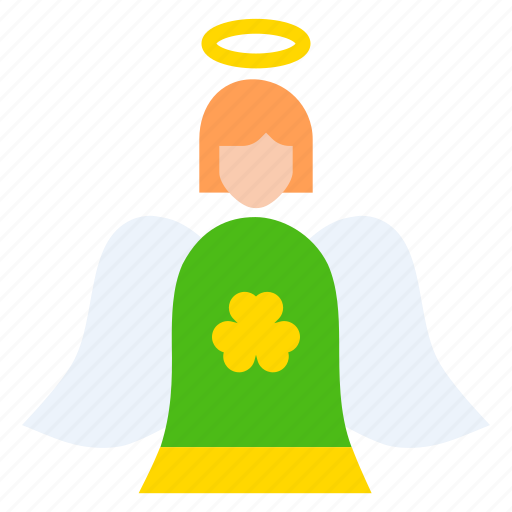 Angel, day, fairy, holy, patricks, saint icon - Download on Iconfinder