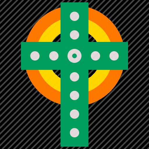 Ceilidh, cross, day, festival, irish, patricks, saint icon - Download on Iconfinder